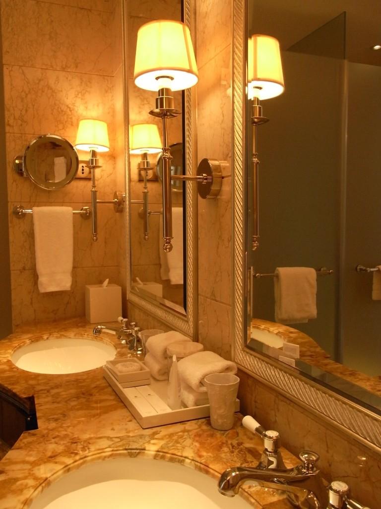 St Regis Singapore Bathroom Light Fixture