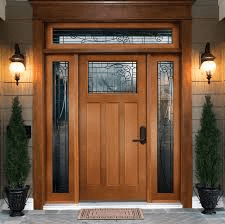 interior and exterior doors - front door