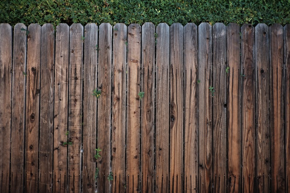 Brown wooden fence (Wood Fence Repair)