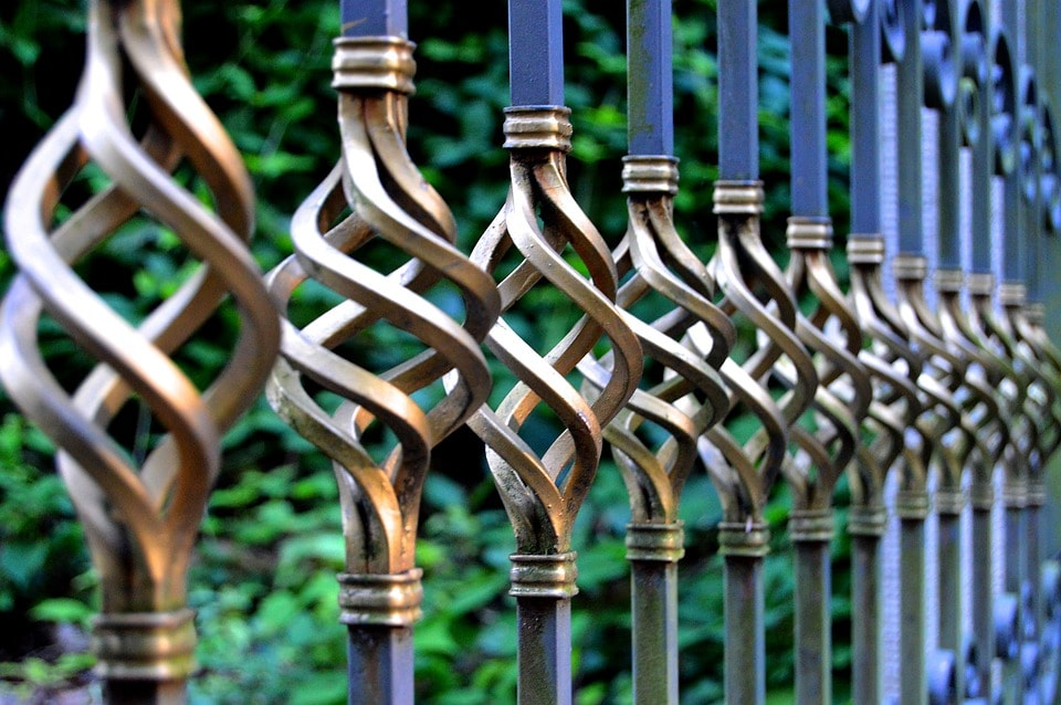 Wrought iron fence and gate repair