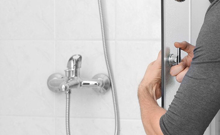 Shower Door Installation and Other Bathroom Repairs